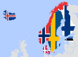 norwegia-mapa-konturowa